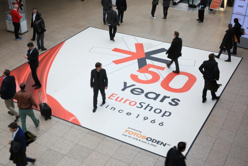 Messeboden aus FOTOBODEN EuroShop