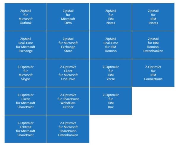 ZipMail und Z-OptimiZr